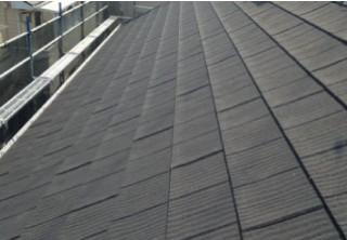 屋根カバー工法施工後