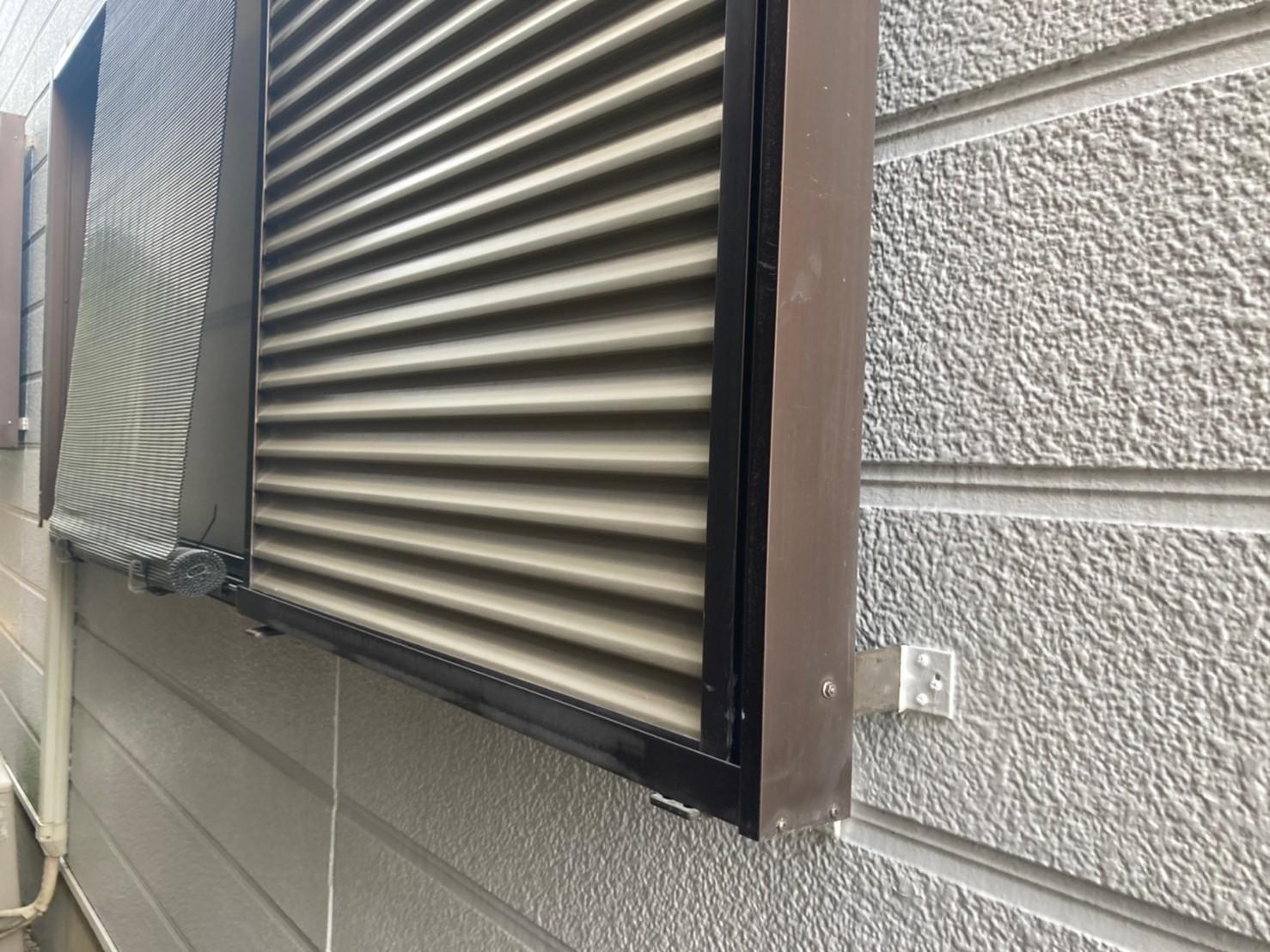 外壁点検 雨戸