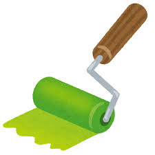 緑ローラー