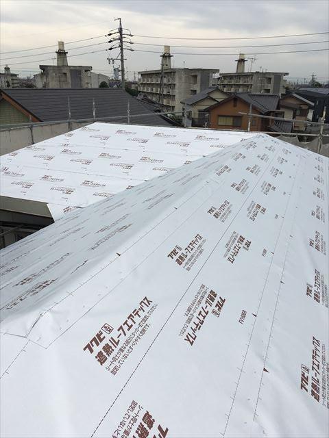 屋根全体 遮熱ルーフィング