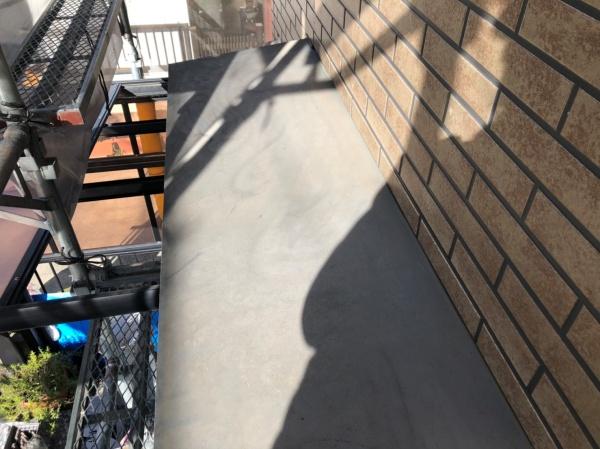 庇塗装工事 施工前