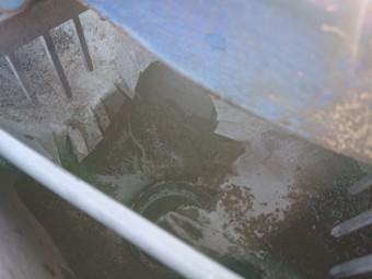 雨樋の詰まり