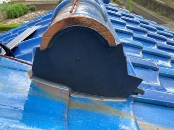 瓦屋根 補修工事