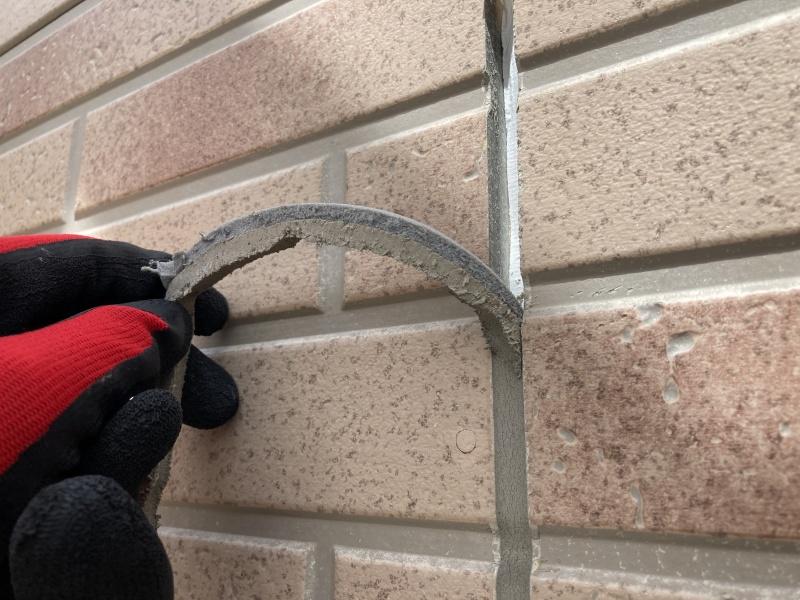 外壁塗装工事 シーリング打ち替え