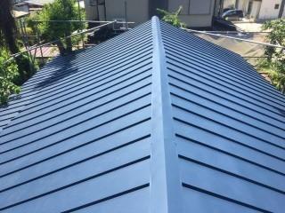 ガルバリウム鋼板 葺き替え 雨漏り