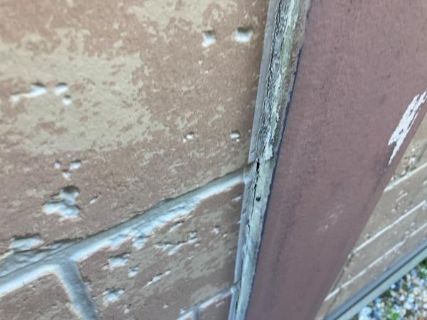 名古屋市北区 屋根外壁診断 シーリング劣化