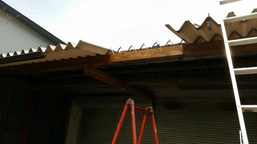 折半屋根取替え