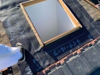 オーバーサイズ工法 天窓交換
