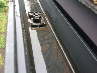 雨樋の詰まり 補修