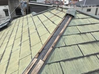 台風被害 棟板金