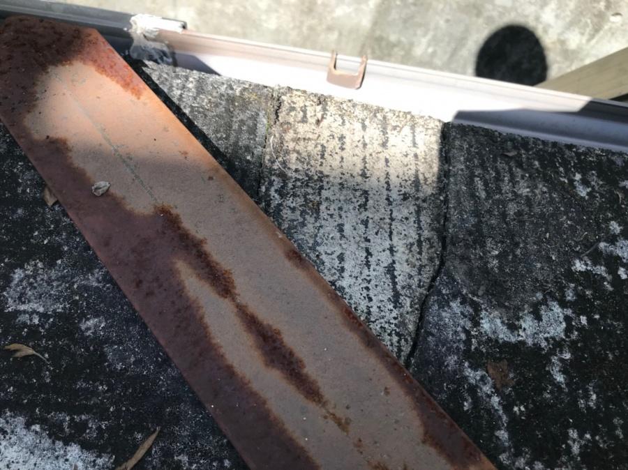 スレート 褪色 塗装 重ね葺き 葺き替え