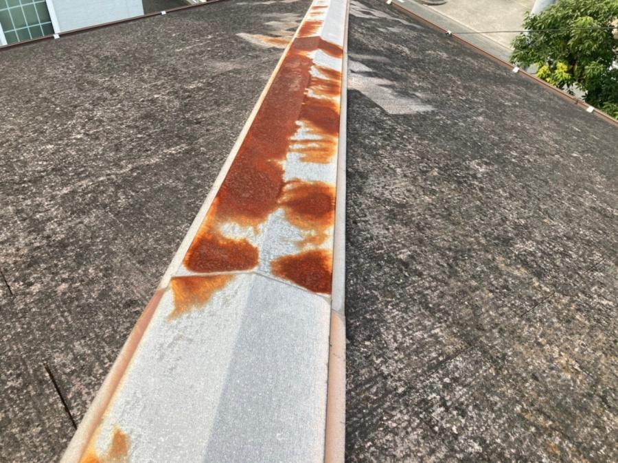 日進市にて棟板金交換工事|台風の時、被害が出やすい部分は?