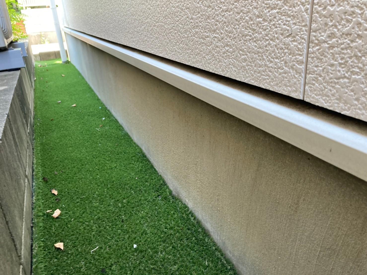外壁塗装 土台水切り