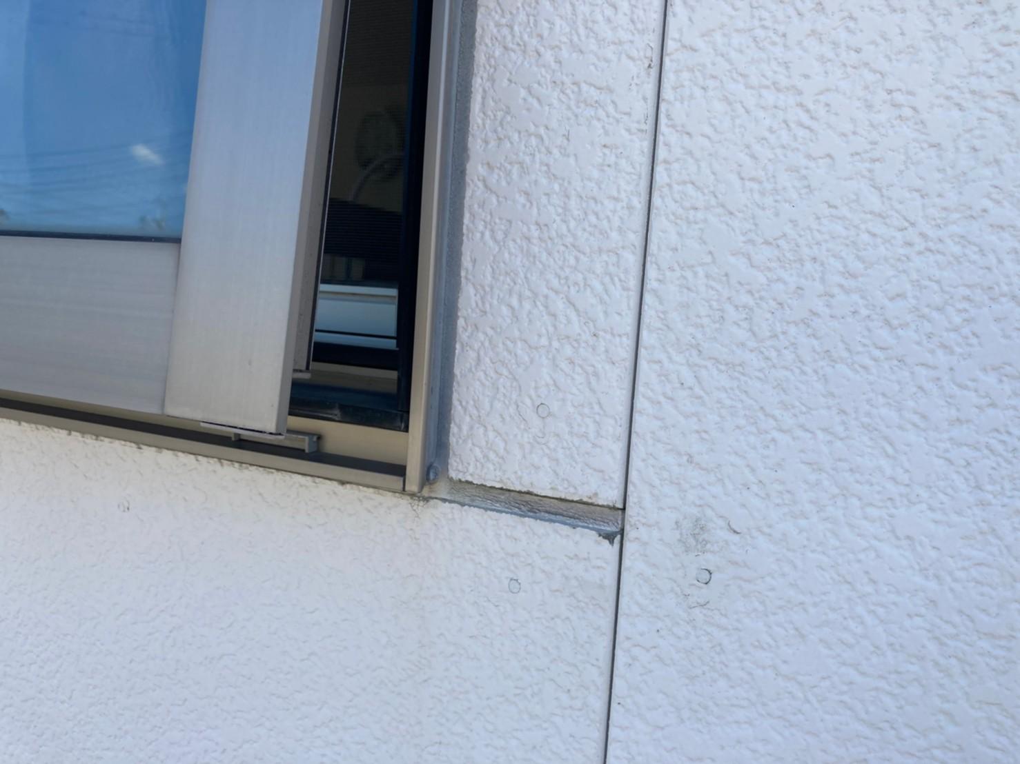 外壁塗装 サッシ廻り