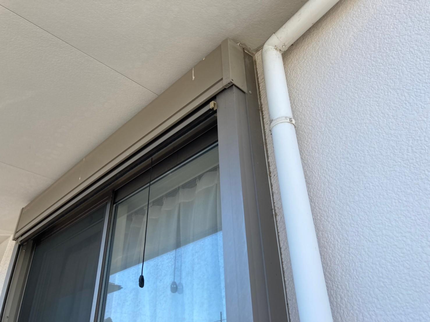 外壁塗装 シャッターBOX