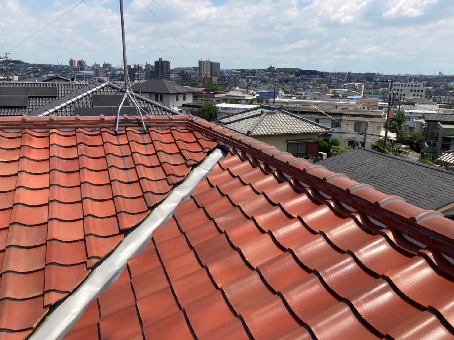 名古屋市天白区で屋根の点検!漆喰等不具合放置していませんか?