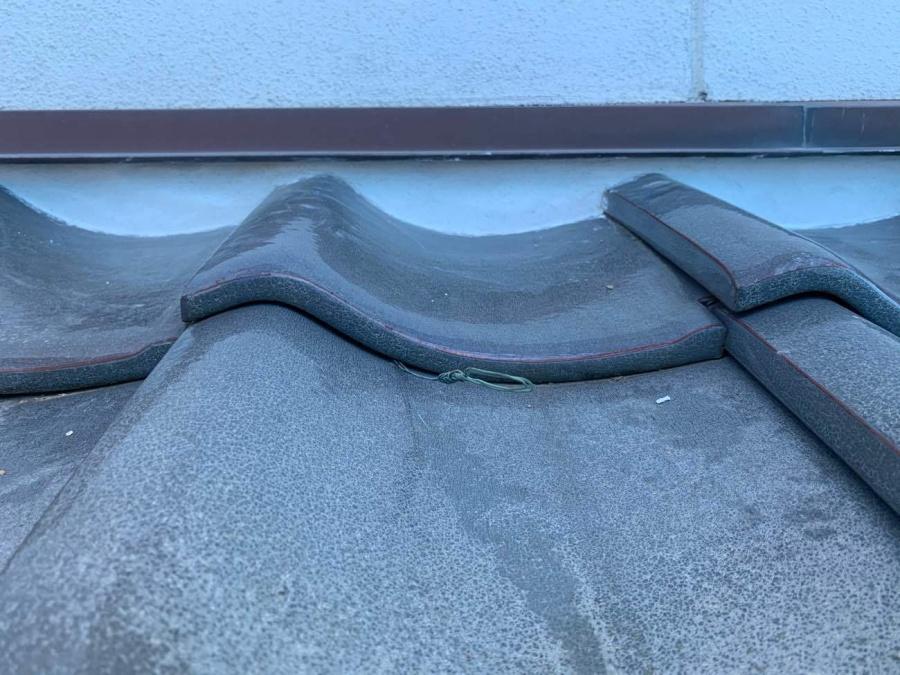 漆喰修繕工事 名古屋市西区 壁際漆喰