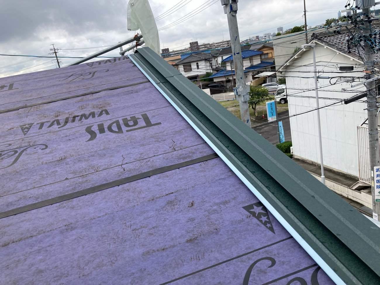 屋根カバー工法 ケラバ