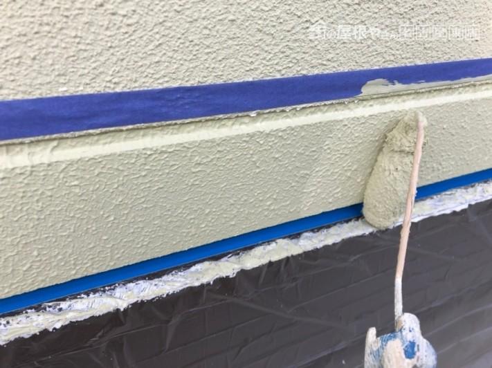 マスチックローラー塗装工事