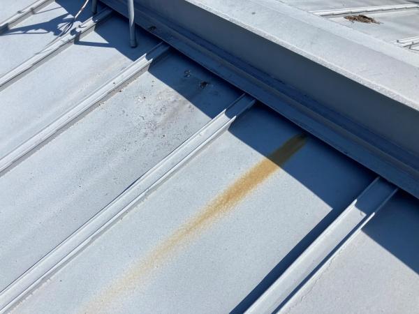 瓦棒屋根 錆の発生