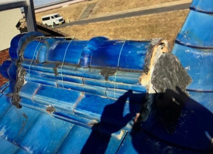 漆喰工事 雨漏り補修