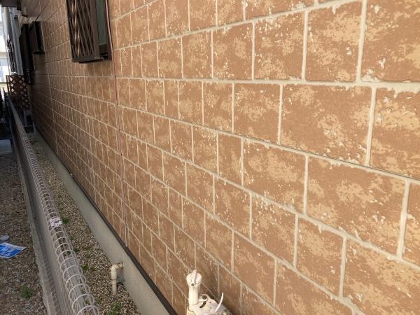 名古屋市北区 屋根外壁診断 チョーキング