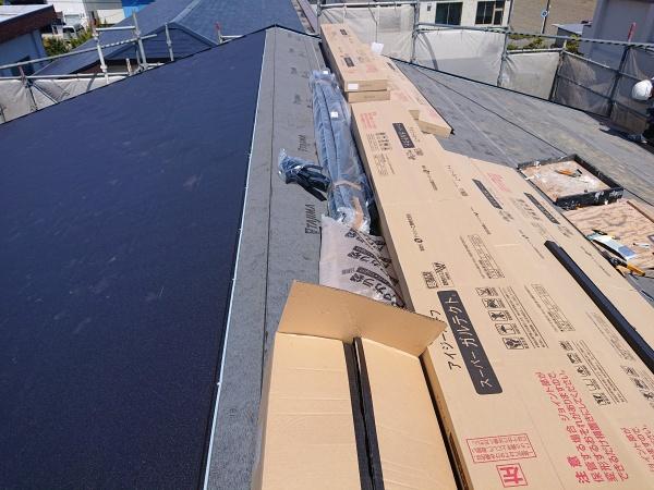 屋根葺き替え工事 ガルテクト