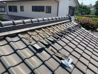 屋根漆喰 塗り替え