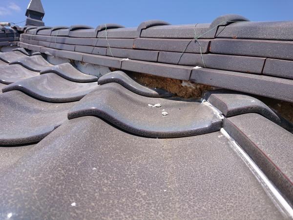 屋根漆喰工事 屋根補修工事