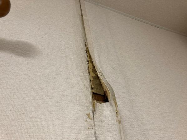 雨漏り補修 内装工事