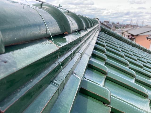 扶桑町で築30年以上の屋根の点検をしました