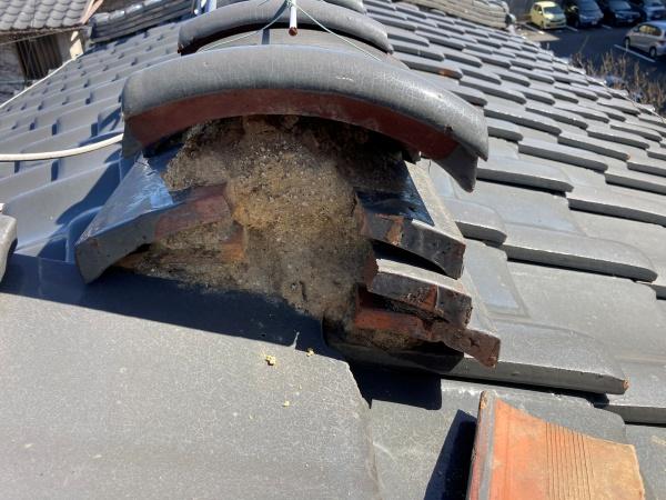 名古屋市北区 棟の取り直し 雨漏り