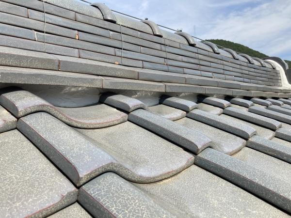 屋根点検 無料の点検 漆喰の確認
