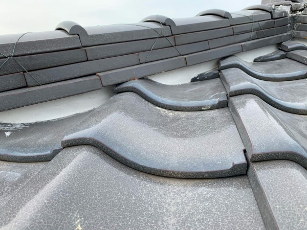 漆喰塗り直し工事 屋根工事
