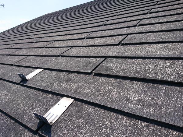 スレート屋根の点検