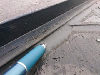 スレート カラーベスト 雨漏り事例