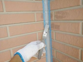 外壁目地の打ち替え工事