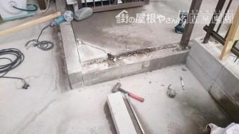 土間補修工事