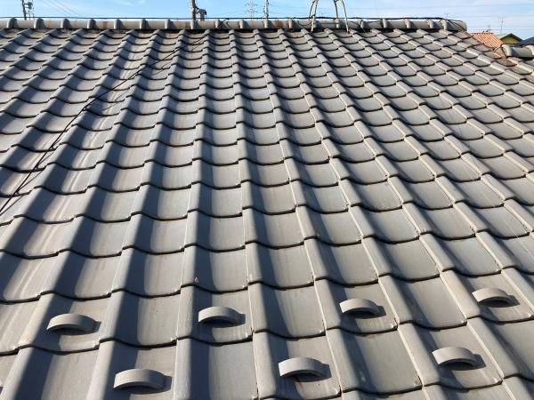 築50年 瓦屋根の点検