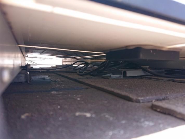 キッチン天井にカビ