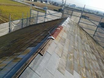 棟板金 台風被害