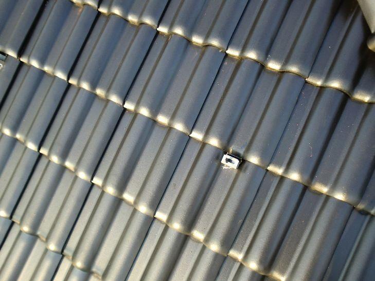 太陽光設置工事 支持金具取付