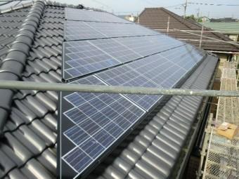 太陽光パネル設置 完了