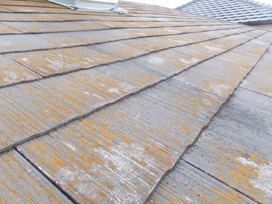 スレート屋根 棟板金の劣化