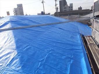 屋根葺き替え 養生