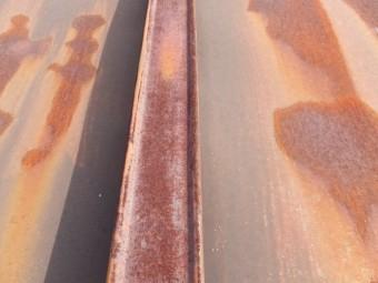 瓦棒屋根の錆 メンテナンス