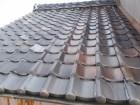 漆喰の劣化と瓦屋根