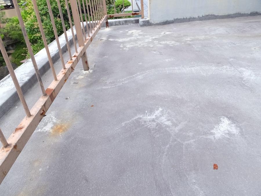 名古屋市北区 雨漏り点検 ベランダ防水