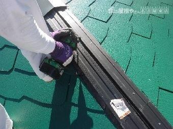 屋根板金取替え