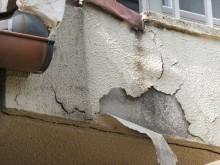 雨漏れ 塗膜剥離 爆裂